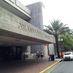 Photo taken at Orange County Library - Orlando Public Library by Luis G. on 10/15/2012