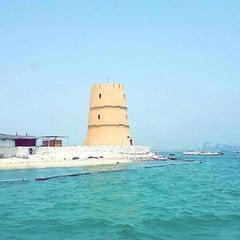 Photo taken at Al Dar Island by Dalal A. on 8/21/2015