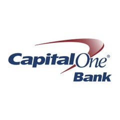 Photo taken at Capital One Bank by Rachel B. on 6/3/2014