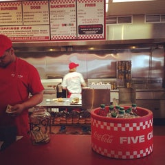 Photo taken at Five Guys by Akihiko S. on 2/26/2014