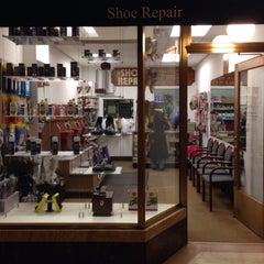Photo taken at Shoe Repair by Matthew on 1/7/2015