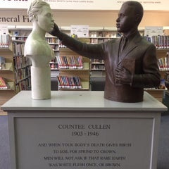 Photo taken at New York Public Library - Countee Cullen by Matthew on 6/16/2015