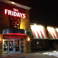 Photo taken at TGI Fridays by Laura V. on 1/2/2013