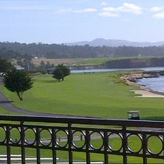 Photo taken at Pebble Beach Golf Links by Neny N. on 11/19/2012