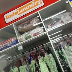 Photo taken at Indo Laundry Indomaret by Indira Renantera on 5/29/2013