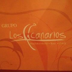 Photo taken at Los Canarios by Elizabeth T. on 10/4/2012