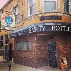 Photo taken at Empty Bottle by Erik M. on 7/7/2013