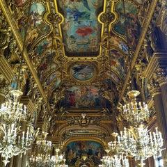 Photo taken at Opéra Garnier by Loïc L. on 2/17/2013