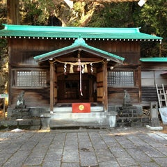 Photo taken at 清瀧神社 by mutsu 1. on 12/23/2012