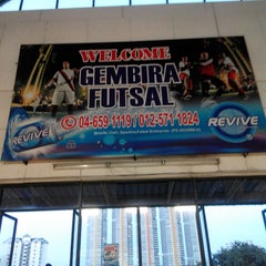 Photo taken at Gembira Parade Futsal Court by Eddy Marican M. on 12/23/2013
