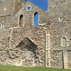 Photo taken at Reculver Towers and Roman Fort by Gillian M. on 7/4/2014