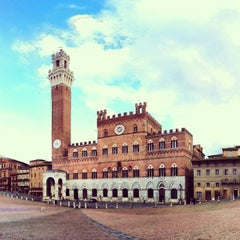 Photo taken at Piazza del Campo by Caio S. on 1/15/2013