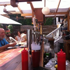 Photo taken at Nor'east Beer Garden by Mary W. on 6/20/2013