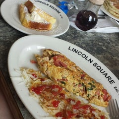 Photo taken at Lincoln Square Pancake House - 56th St. by Ashley O. on 7/25/2014