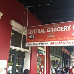 Photo taken at Central Grocery Co. by Jason R. on 7/12/2012