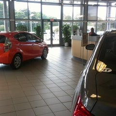 Photo taken at Rice Toyota by Kyle S. on 10/3/2012