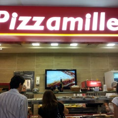 Photo taken at Pizzamille by HB (. on 5/13/2013