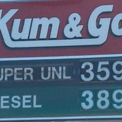 Photo taken at Kum & Go by Geri K. on 3/15/2013