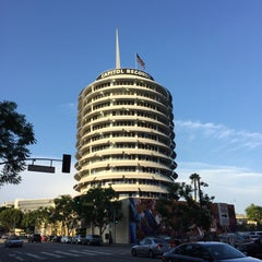 Photo taken at Capitol Records by Nathan H. on 10/16/2015