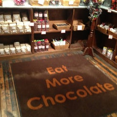 Photo taken at Jacques Torres Chocolate by Leigh F. on 4/9/2013