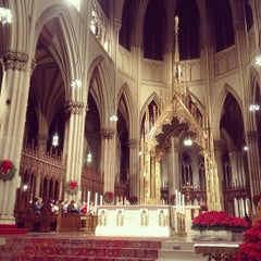 Photo taken at St. Patrick's Cathedral by Hiep T. on 1/3/2013