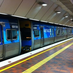 Photo taken at Melbourne Central Station by Mick M. on 4/6/2013