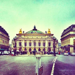 Photo taken at Opéra Garnier by Var V. on 11/17/2012