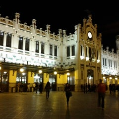 Photo taken at Estació del Nord by Cata I. on 10/31/2012