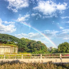 Photo taken at NUS Central Library by Guntapong B. on 7/30/2015