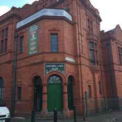 Photo taken at Salford Lads Club by Pete A. on 4/11/2015