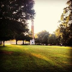 Photo taken at University of Alabama Quad by Jeffrey H. on 9/19/2012