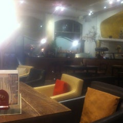 Photo taken at Cafe'tscherl by Cathrin M. on 9/5/2014