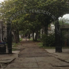 Photo taken at Lafayette Cemetery No. 1 by Dennis N. on 5/1/2013