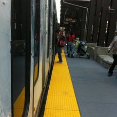 Photo taken at Nicollet Mall LRT Station by Antonio P. on 6/18/2013