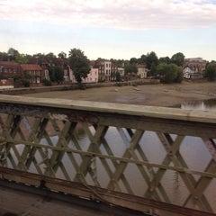 Photo taken at Kew Railway Bridge by Christine on 8/2/2013