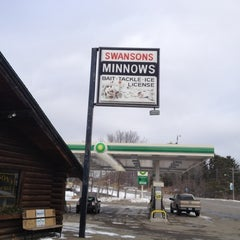 Photo taken at Swanson's Bait & Tackle by Monte M. on 2/28/2012