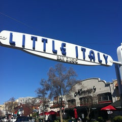 Photo taken at Little Italy by Visit San Diego on 2/13/2013
