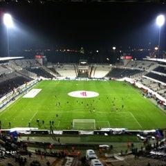 Photo taken at Beşiktaş İnönü Stadyumu Yeni Açık by Ugur A. on 12/21/2012