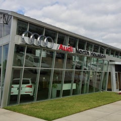 Photo taken at Audi North Houston by Jason L. on 10/10/2012
