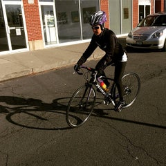 Photo taken at Piermont Bicycle Connection by Julius Erwin Q. on 12/29/2014