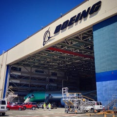 Photo taken at The Boeing Co. by Jaunted on 7/8/2014