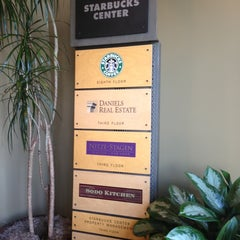 Photo taken at Starbucks HQ by Nicole B. on 2/7/2013