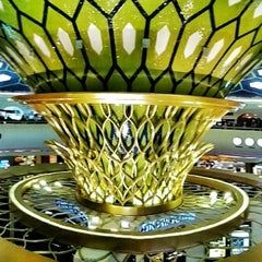 Photo taken at Abu Dhabi International Airport (AUH) مطار أبو ظبي الدولي by Daniel F. on 6/26/2013