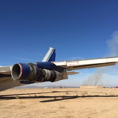 Photo taken at Southern California Logistics Airport (VCV) by Michael Anthony on 12/10/2014