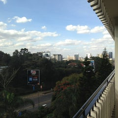 Photo taken at Sarova Panafric by Yvonne T. on 8/24/2013