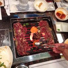Photo taken at Cho Sun Gal Bi Korean BBQ & Sushi Bar by Julie G. on 6/26/2014