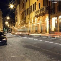 Photo taken at Via Farini by Associazione Succede solo a B. on 7/16/2014