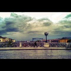 Photo taken at Ponte di Galliera by Associazione Succede solo a B. on 11/14/2012