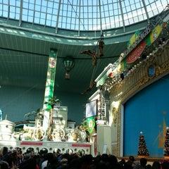 Photo taken at 롯데월드 가든스테이지 (Lotte World Garden Stage) by 토마스 on 11/18/2012