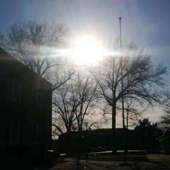 Photo taken at University of Missouri-Kansas City (UMKC) by Cesar Augusto N. on 4/9/2014
